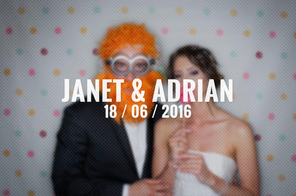 Zabezpieczony: Janet & Adrian