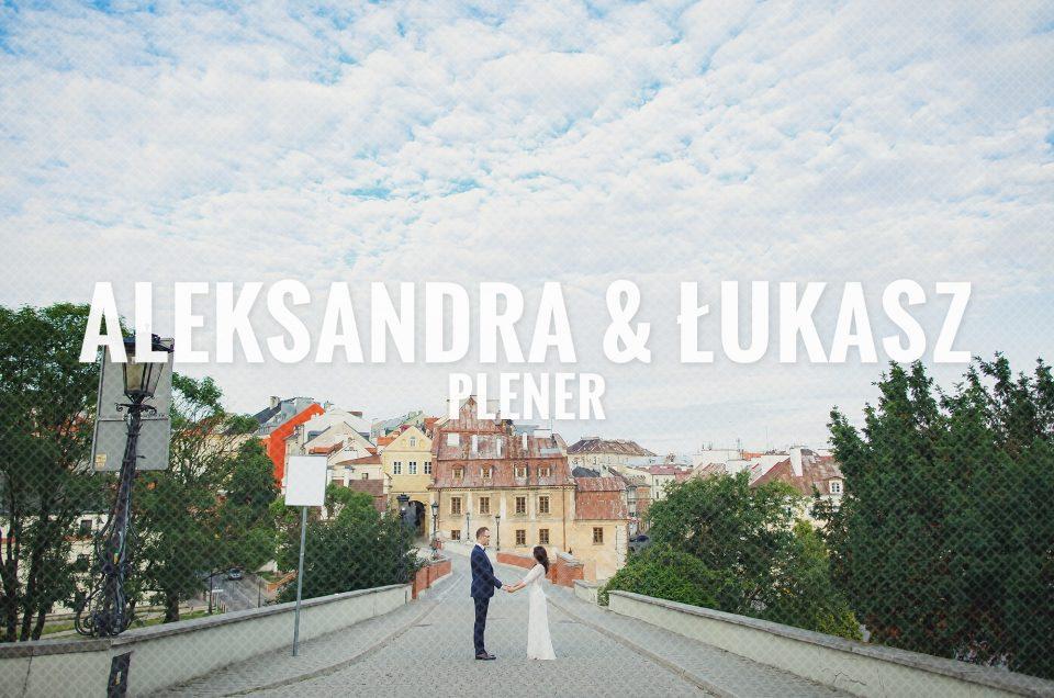 Plener / Aleksandra & Łukasz
