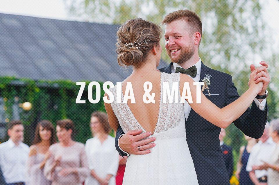Zosia & Mat / Ślub plenerowy i wesele w Sadyba Rozalin