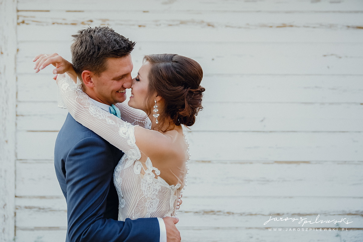 Zdjęcie z plenerowej sesji poślubnej.