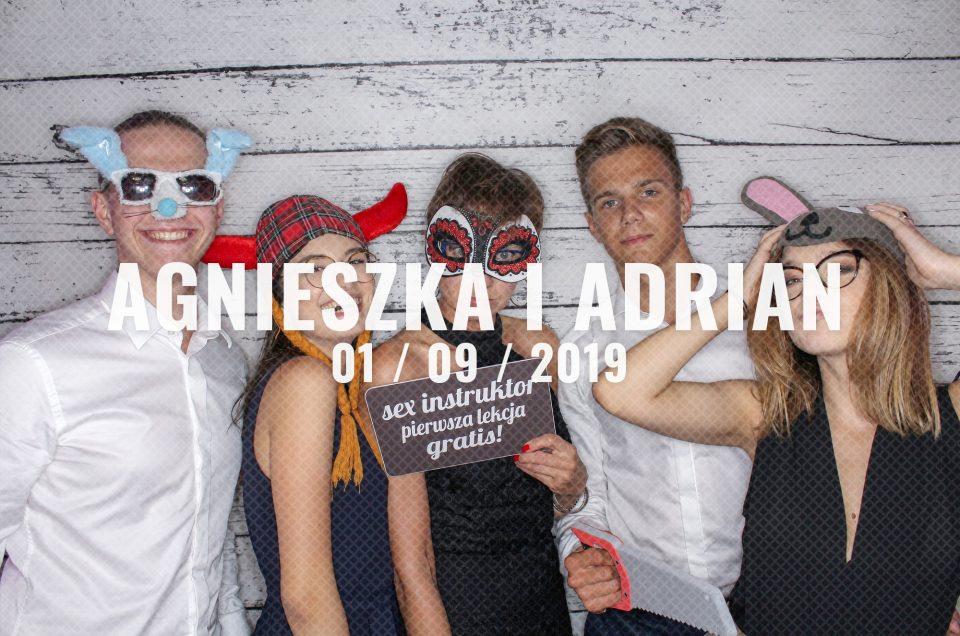 Zabezpieczony: Agnieszka & Adrian