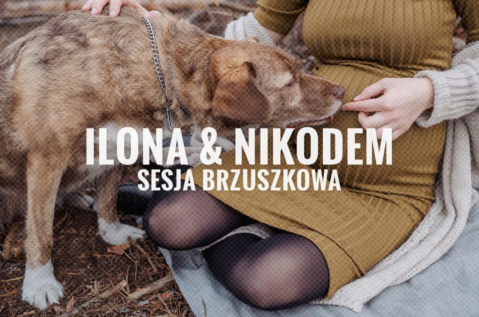 Lifestylowa sesja brzuszkowa / Ilona & Nikodem